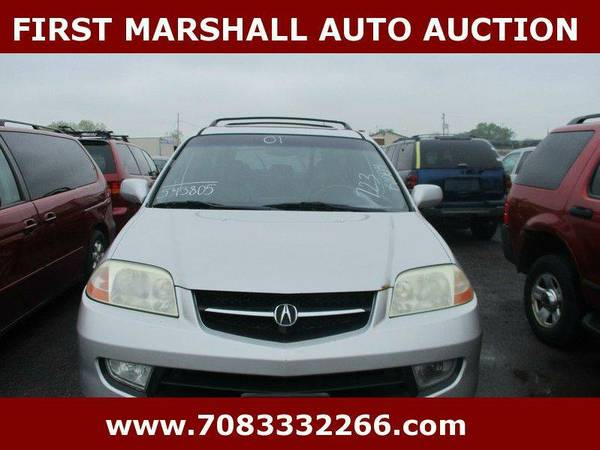 2001 Acura MDX Touring 4WD 4dr SUV w/Navigation - First Marshall Auto