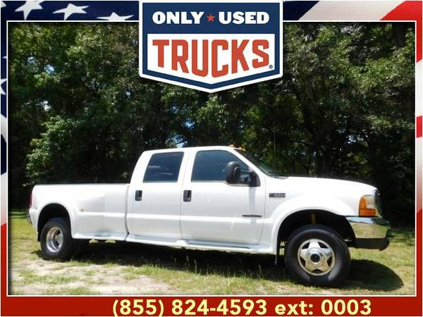2000 *Ford F350* *F-350*F 350* Lariat Super Duty Dually (8cyl, 7.3L,...