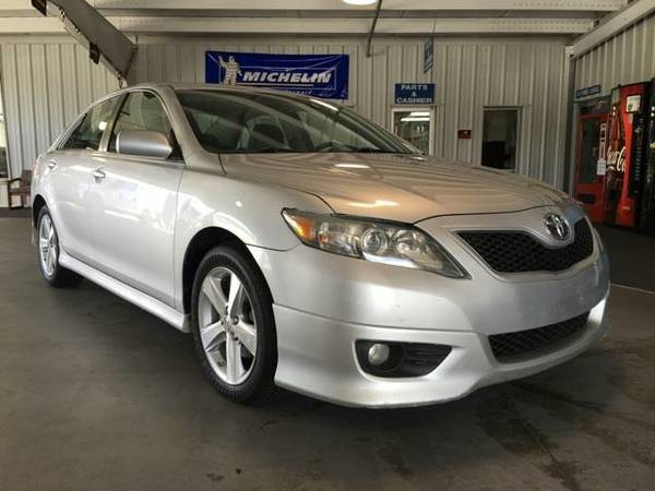 2010 *Toyota Camry* SE - (Classic Silver Metallic) 4 Cyl.