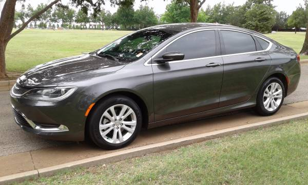 2015 CHRYSLER 200 LIMITED ONE OWNER CLEAN CARFAX BACKUP CAMERA!!!!