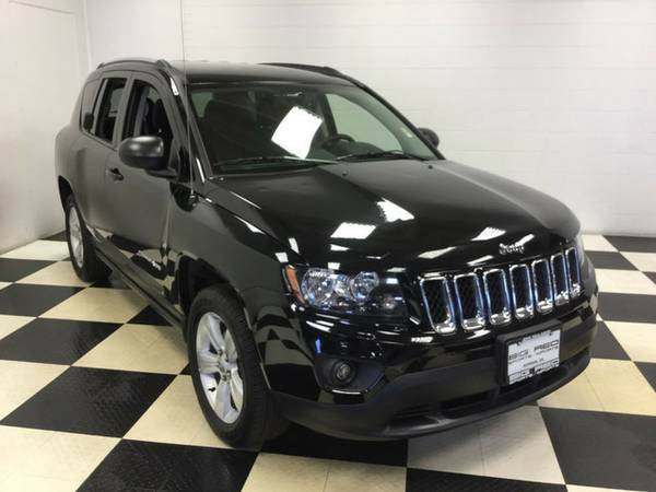 2016 JEEP COMPASS SPORT 4X4 ONLY 12K MILES!! FULL FACTORY WARRANTY!!!
