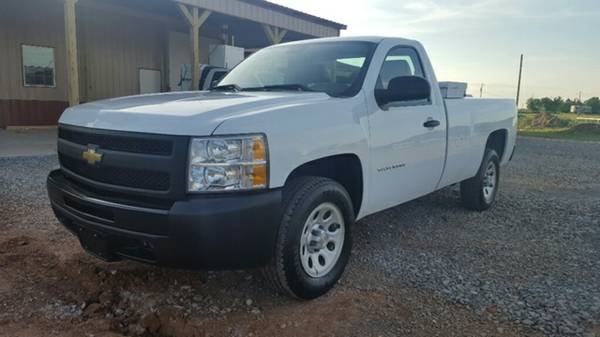 2011 Chevrolet Silverado 1500 Work Truck Regular Cab Long Bed