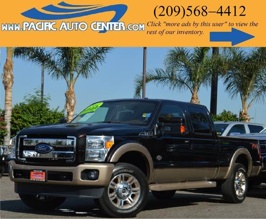 *2013 Ford F250 * LARIAT * KING RANCH * DIESEL * FORD F-250 #13444