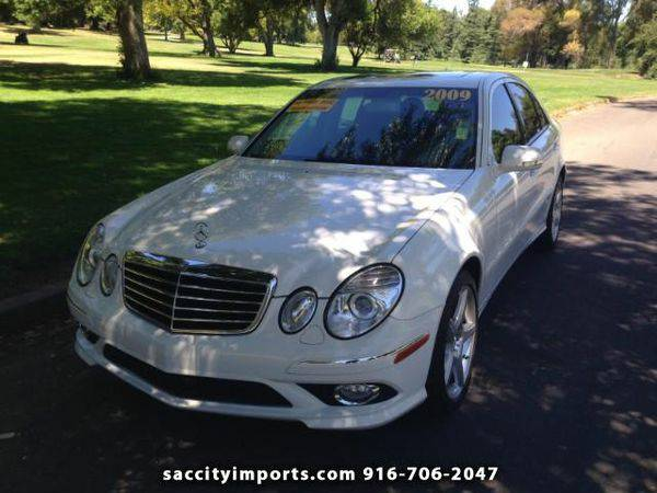 2009 *Mercedes-Benz* *E-Class* E350 4MATIC Sedan - ZERO DOWN Payment!