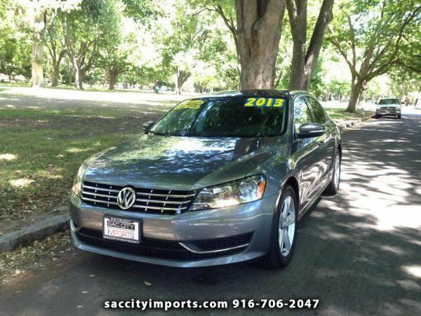 2013 *Volkswagen* *Passat* 2.5L SE AT - ZERO DOWN Payment!