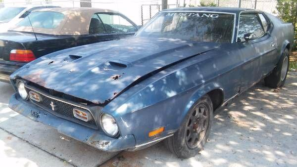 Used 1971 Ford Mustang Mach 1