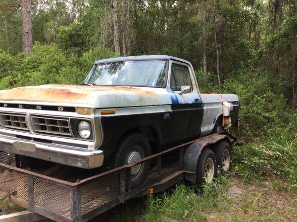Used 1976 Ford F100