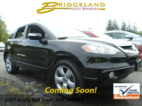 2009 Acura RDX LEATHER MOONROOF ONLY 72,000 MILES SPOTLESS