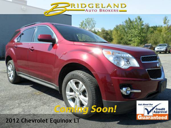 2012 Chevrolet Equinox LT V6 LEATHER ONLY 59,000 MILES AWD
