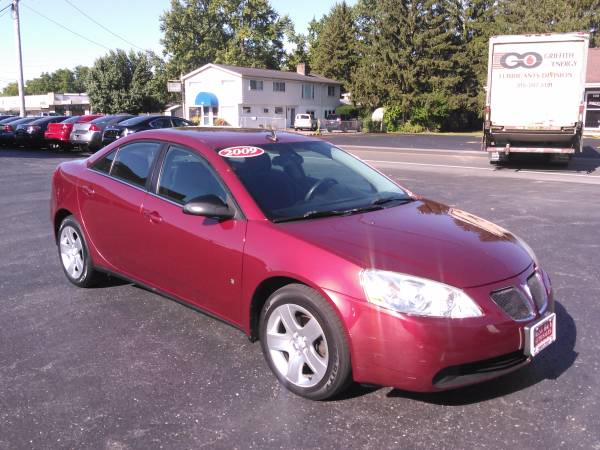 2009 PONTIAC G6 SEDAN WITH GUARANTEED CREDIT APPROVAL FOR EVERYONE!!