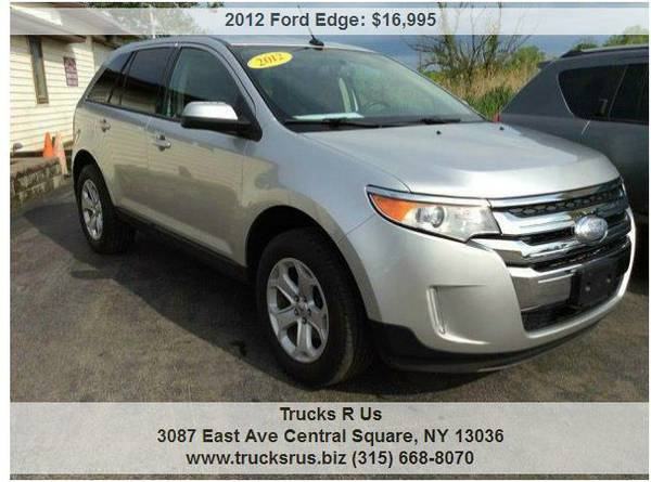 2012 Ford Edge SEL-AWD