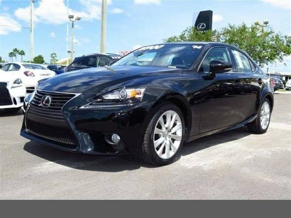 2014 Lexus IS 250 SKU:E5042252 Sedan
