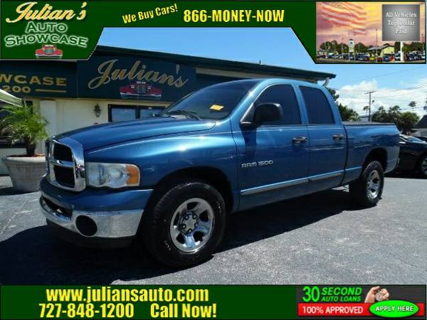 2004 Dodge Stock P783931 Ram 1500 Crew Cab Pickup ST