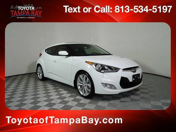 2013 *Hyundai* *Veloster* Base - 3 Day/300 Mile Exchange Policy*