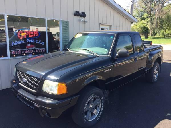 2002 Ford Ranger - V6 black