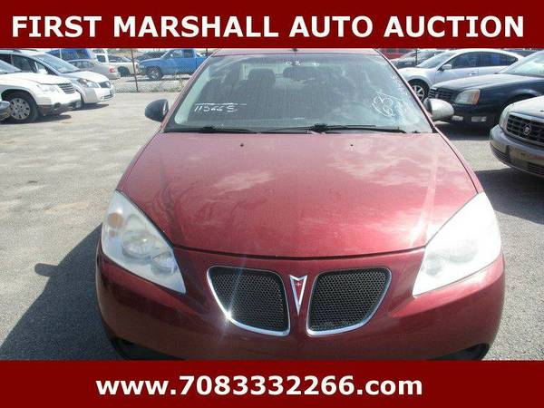 2008 Pontiac G6 GT - First Marshall Auto Auction