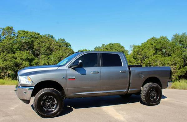 2012 RAM 2500 CREW CAB 4X4 DIESEL AMP POWER STEPS REAL CLEAN NEW TIRES