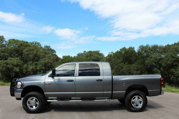 2007 DODGE RAM 2500 4X4 5.9L CUMMINS MEGACAB*1OWNER*ONLY 108K Mi!*
