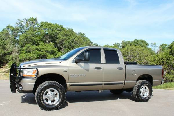2006 DODGE RAM 25005.9L 4X4-ONLY 139K-MI*CLEANCARFAX!-CALL OR TEXT NOW