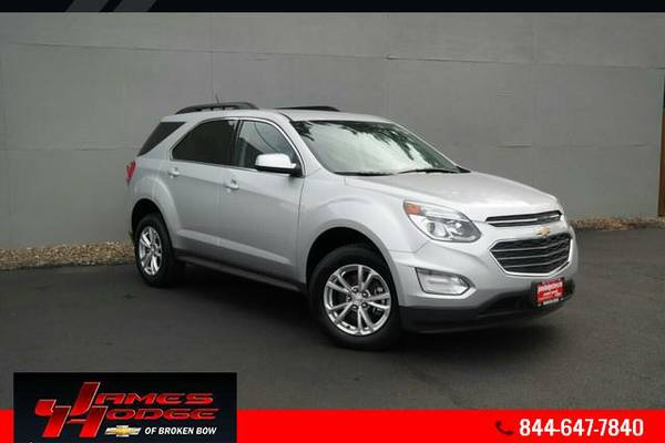 2016 Chevrolet Equinox - FREE OIL CHANGES FOR LIFE