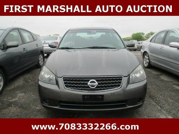 2006 Nissan Altima 2.5 4dr Sedan - First Marshall Auto Auction