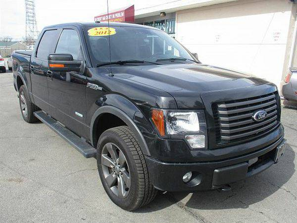 2012 *Ford* *F-150* *F 150* *F150* FX4 SuperCrew 5.5-ft. Bed 4WD *$499