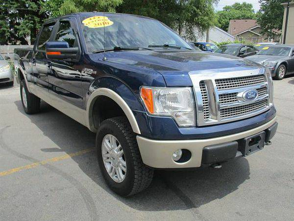 2010 *Ford* *F-150* *F 150* *F150* XL SuperCrew 5.5-ft. Bed 4WD *$499