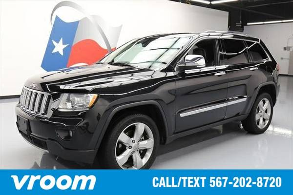 2012 Jeep Grand Cherokee Overland 7 DAY RETURN / 3000 CARS IN STOCK