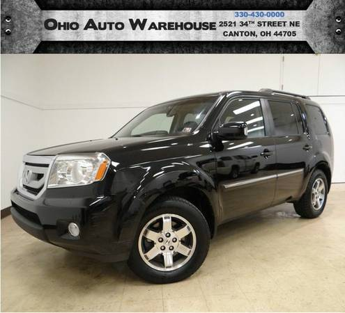 2010 *Honda* *Pilot* Touring 4x4 Navi Tv/DVD Sunroof 1-Own Cln Carfax