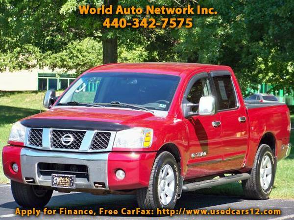 2006 Nissan Titan LE Crew Cab 4WD