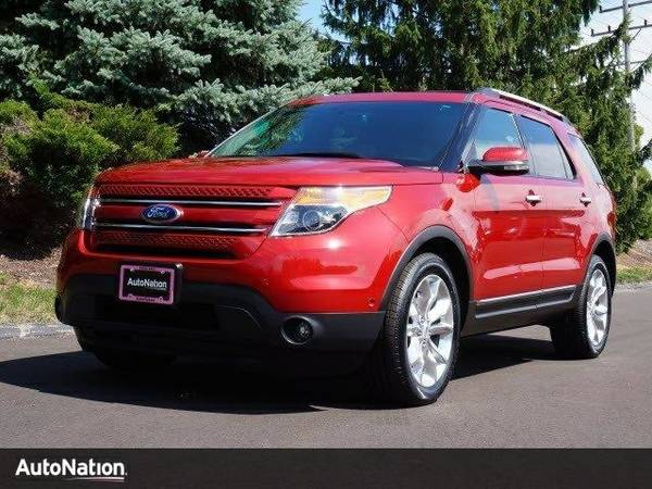 2012 Ford Explorer Limited SKU:CGA24323 Ford Explorer Limited SUV