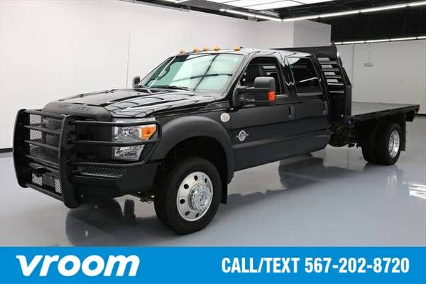 2015 Ford F-550 Chassis XL 4dr Crew Cab 4WD DRW (6.7L 8cyl ) Truck 7