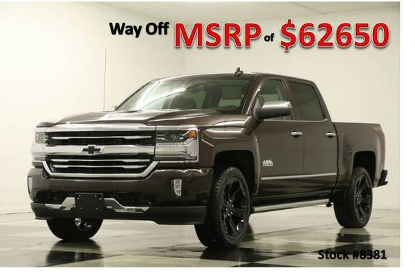 *$8K OFF MSRP - SILVERADO 1500 4X4* 2016 Chevy *SUNROOF - DVD*