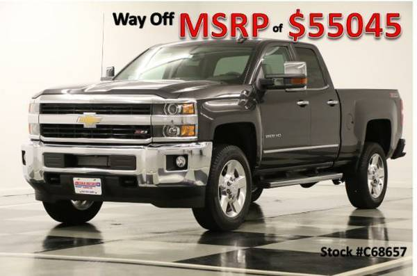 *HEATED COOLED LEATHER-SILVERADO 2500 HD 4X4*2016 Chevy*GPS-6.0L V8*