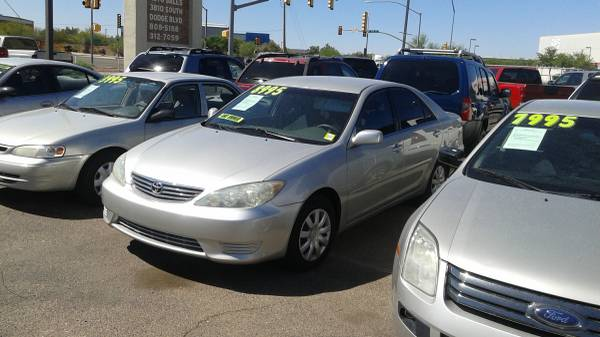 2006 TOYOTA CAMRY-ONE OWNER-WE FINANCE INHOUSE NO CREDIT CHECKS-------