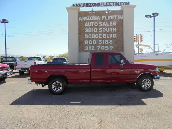 1996 FORD F250 DIESEL P/U...WE FINANCE IN HOUSE...NO CREDIT CHECKS