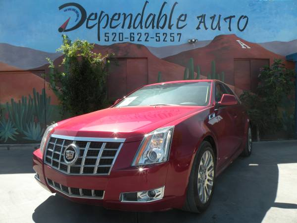 2012 CADILLAC CTS 4- $500 DOWN O.A.C - COME IN TODAY AND GET APPROVED!