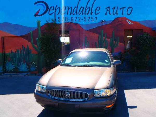 2002 BUICK LASABRE- WE ARE #1 IN TOWN WITH LOWEST PRICES- $500 DWN OAC