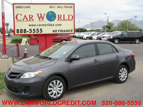 2012 Toyota Corolla LE...................WE FINANCE................