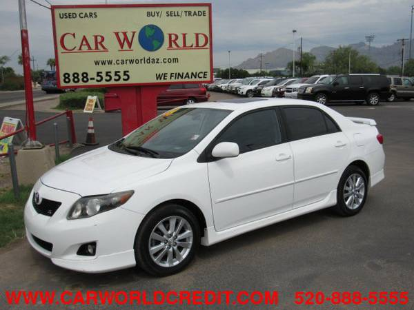 2009 Toyota Corolla S...................WE FINANCE................