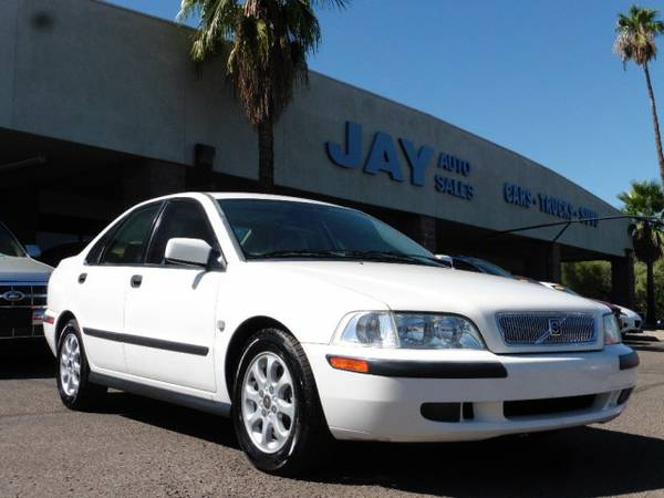 2001 Volvo S40 1.9T / CLEAN AZ CARFAX / / LOW MILES / FULLY LOADED!!