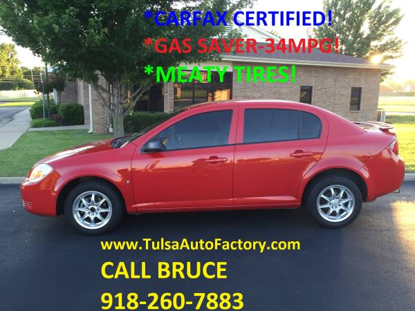 2006 Chevy Cobalt LS Sedan Red *Carfax Certified* *Meaty Tires**34MPG*