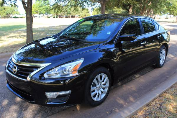 2014 NISSAN ALTIMA 2.5S! LOW MILES! ONE OWNER! GOOD SERVICE RECORD!