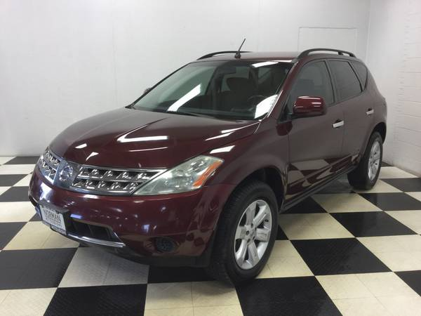 2007 NISSAN MURANO S PKG! AWD! OLD MAN OWNED! DRIVES GREAT! LOADED!