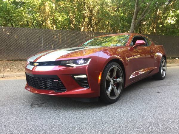 2016 CHEVY CAMARO 2SS! NAVIGATION! LEATHER LOADED! SUNROOF!