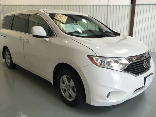 2013 NISSAN QUEST**SV**PUSH BUTTON START*FLAT SCREEN*REAR BACK UP** WO