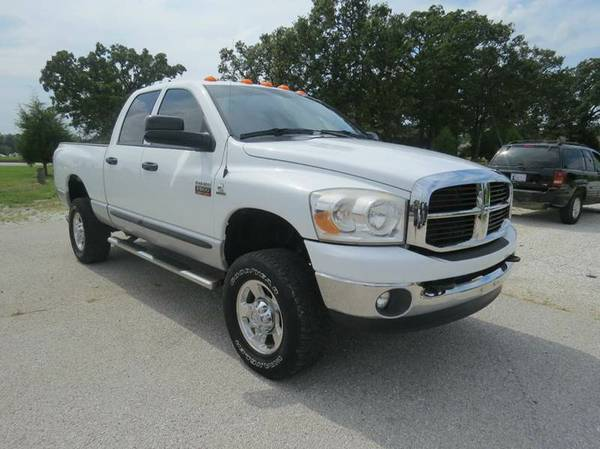 *DIESEL*MANUAL*2007 DODGE RAM 2500 SLT*QUAD CAB*4X4*