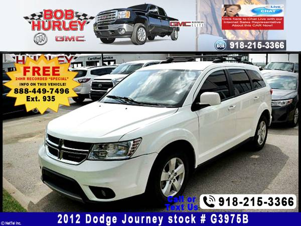 2012 Dodge Journey SXT Stock #G3975B