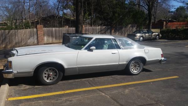 Good condition 1979 Mercury Cougar XR7