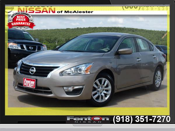 2015 Nissan Altima 2.5 S 24 Hour Liquidation! CALL NOW!